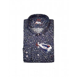 Camisa flores abs The Surf Car